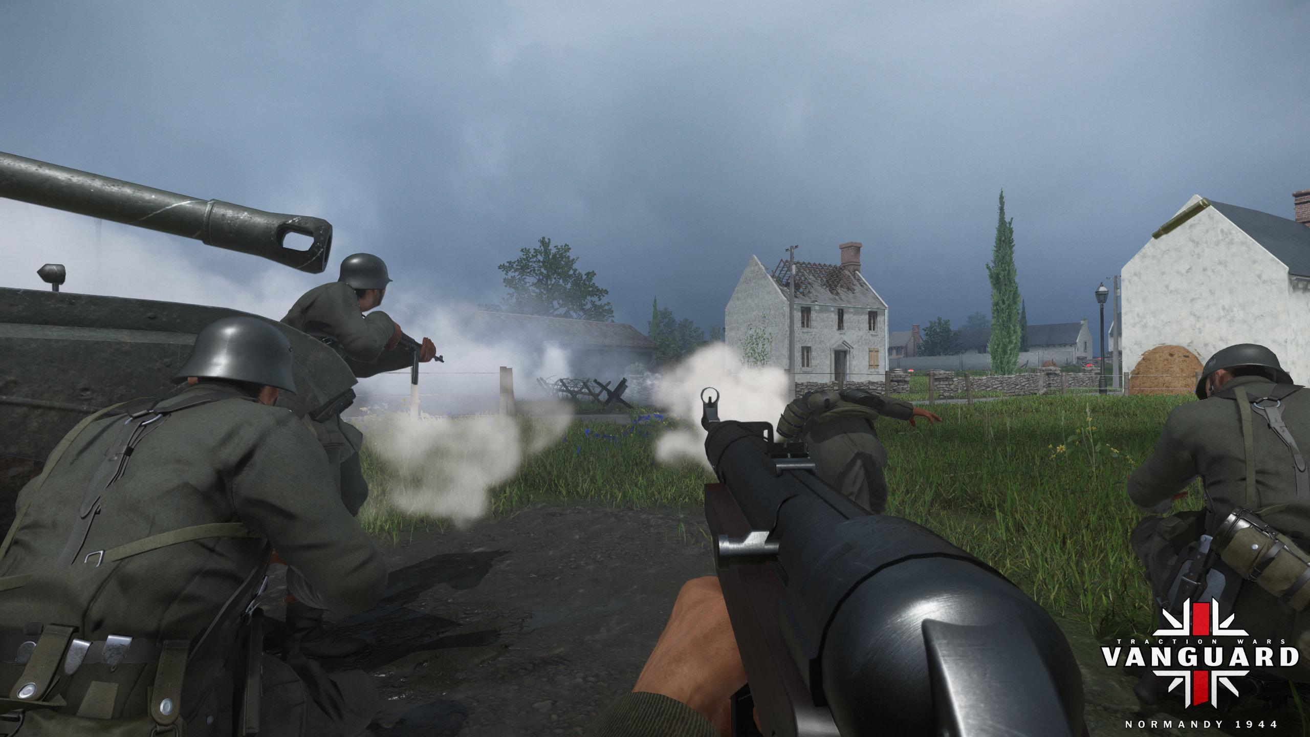 Press Info - Vanguard WWII Game
