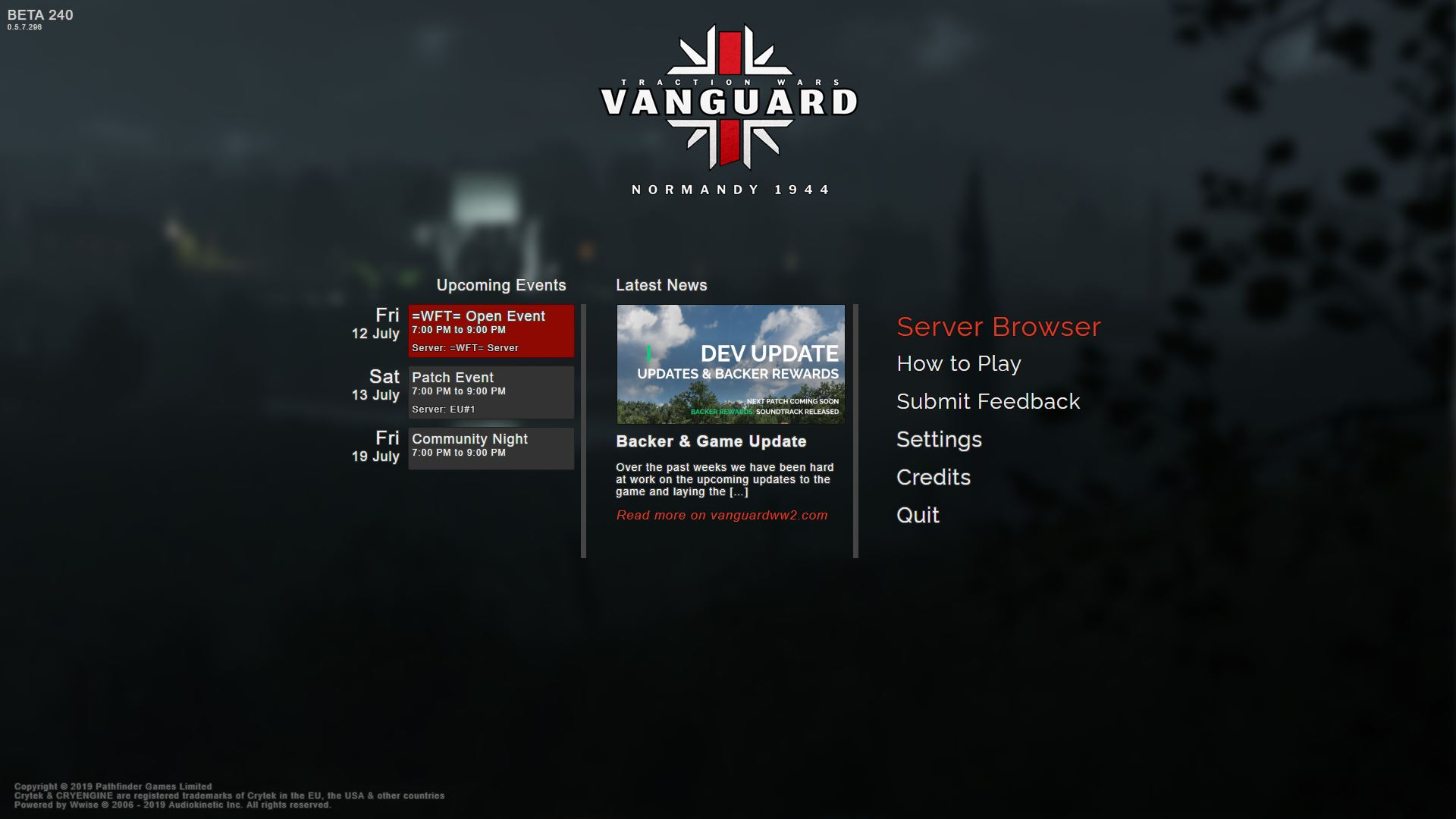2019 07 10-3 - Vanguard WWII Game